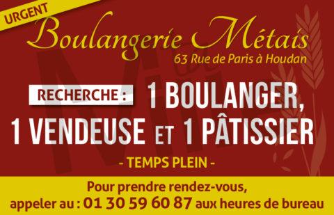 [Offre d'emploi] Boulangerie Métais