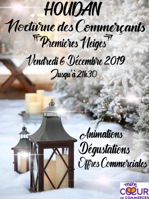 Vendredi 6 décembre 2019 : Nocturne des Commerçants