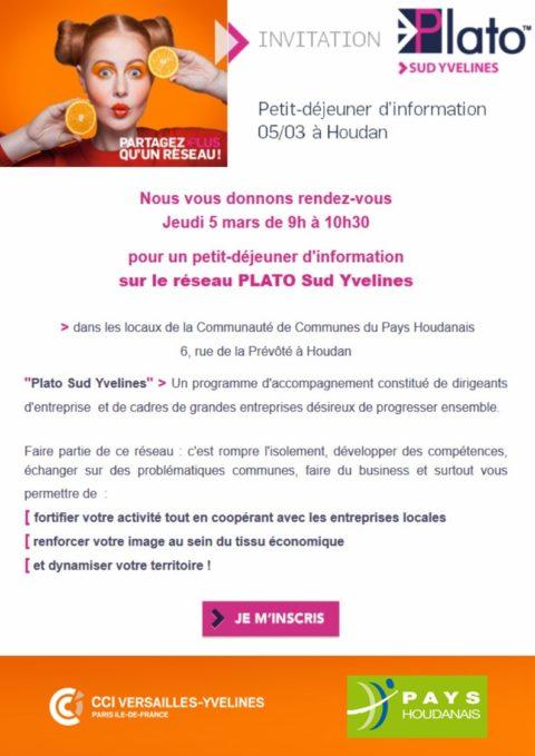 Jeudi 5 mars 2020 : petit déjeuner PLATO Sud Yvelines à la Prévôté