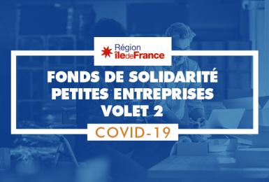 [Covid-19] Fonds de Solidarité Entreprises – Volet 2