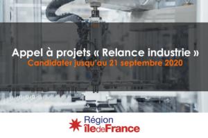 Lancement du dispositif « Relance Industrie »