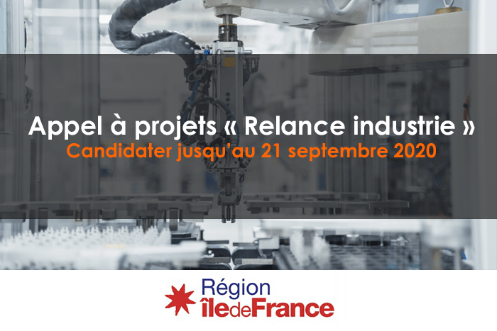 Lancement du dispositif « Relance Industrie »