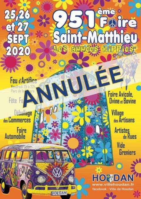 Foire Saint-Matthieu 2020