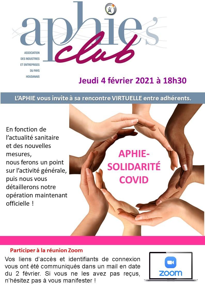 Aphie's club, rencontre mensuelle entre adhérents