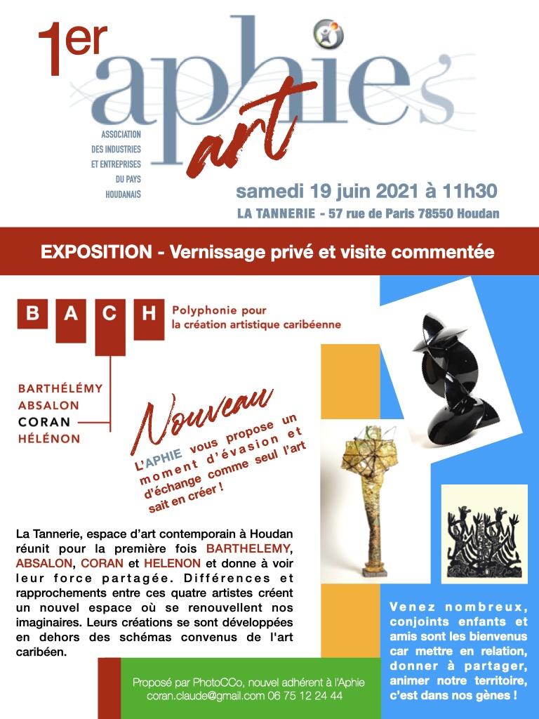 Samedi 19 juin : 1er Aphie's Art à la Tannerie de Houdan