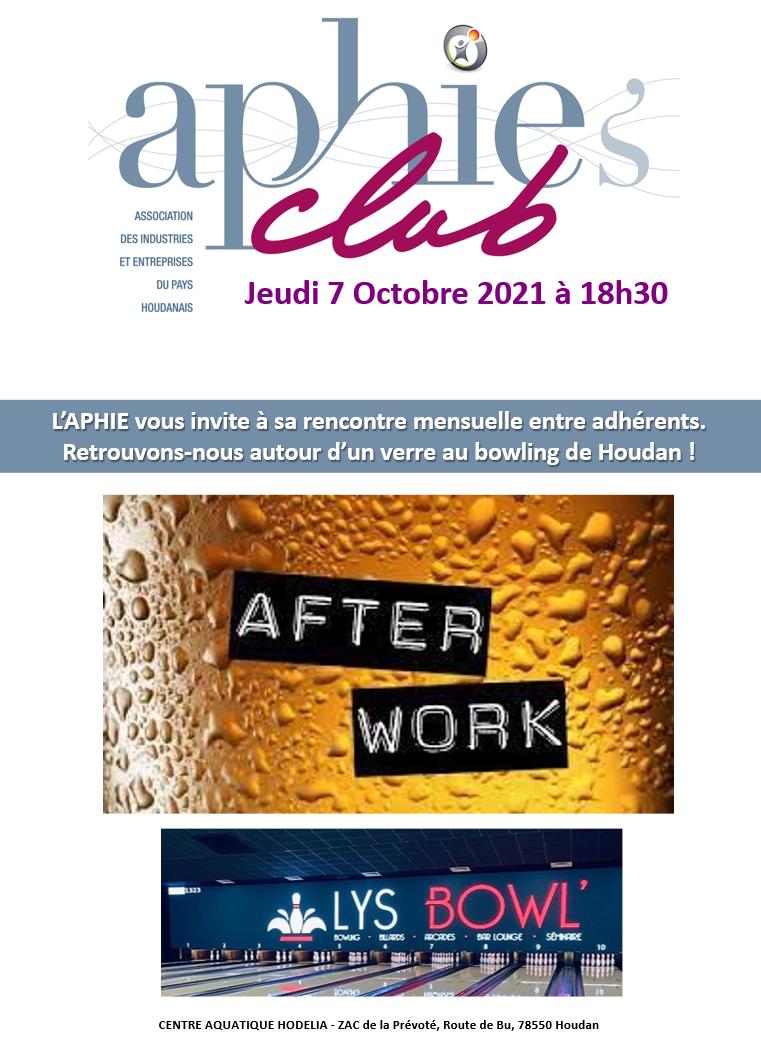 Jeudi 7 Octobre – APHIE's Club [MAJ]